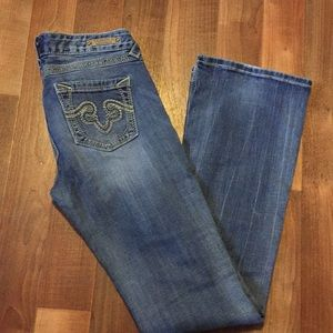 ReRock jeans for Express boot cut size 28 EUR